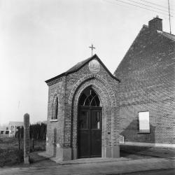 Kapel van de Heilige Barbara, Gyselstraat Nieuwkerken