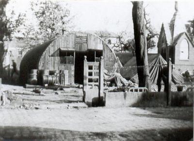 Britse leger in Doel in WOII