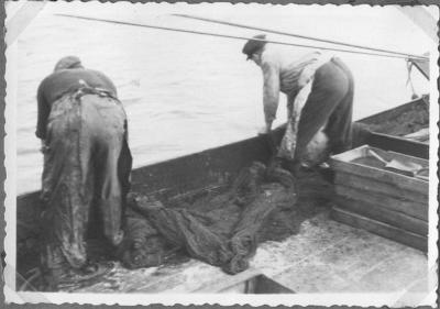 Visvangst in Doel