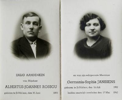 Slachtoffers bombardement Sint-Niklaas, 17 mei 1940