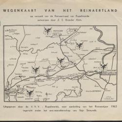 Wegenkaart van het Reinaertland