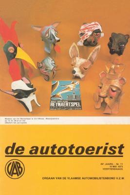 Reynaertspel 1973, maskers (autotoerist)