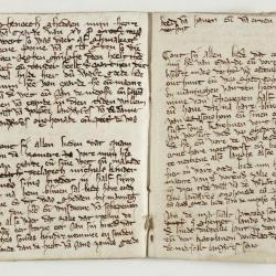 Oudste register van wettelijke passeringen van de heerlijkheid Eksaarde