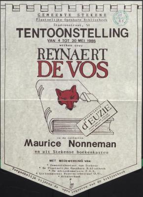 Reynaert de Vos in de collectie Maurice Nonneman en uit Stekense boekenkasten
