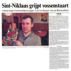 Sint-Niklaas grijpt vossenstaart