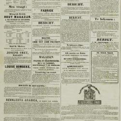 De Klok van het Land van Waes 27/10/1872