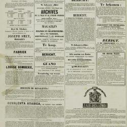 De Klok van het Land van Waes 13/10/1872