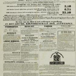 De Klok van het Land van Waes 10/11/1872