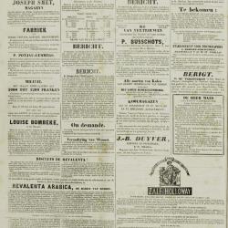 De Klok van het Land van Waes 21/07/1872