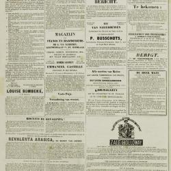 De Klok van het Land van Waes 15/09/1872