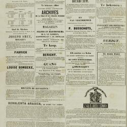 De Klok van het Land van Waes 29/09/1872