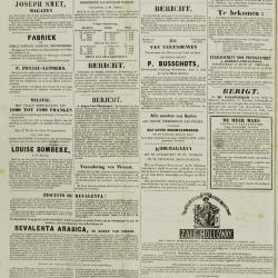 De Klok van het Land van Waes 04/08/1872