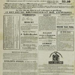 De Klok van het Land van Waes 22/12/1872