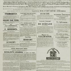 De KLok van het Land van Waes 14/01/1872