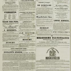 De Klok van het Land van Waes 10/03/1872