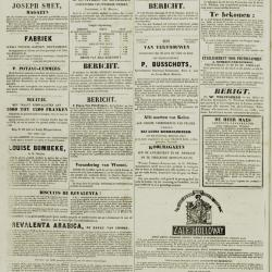 De Klok van het Land van Waes 11/08/1872