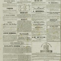 De Klok van het Land van Waes 14/07/1872