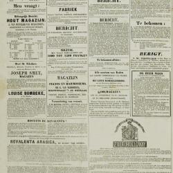 De Klok van het Land van Waes 20/10/1872