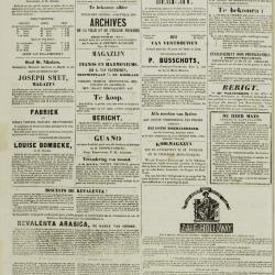 De Klok van het Land van Waes 22/09/1872