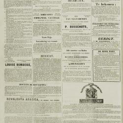 De Klok van het Land van Waes 25/08/1872