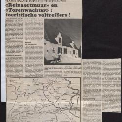 Reinaertmuur en Torenwachter: toeristische voltreffers!