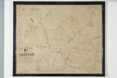 Popp-kaart: Kadasterplan van de gemeente Daknam