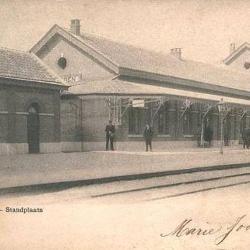 Spoorlijn 59 Antwerpen - Gent, station Beveren