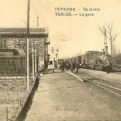 Spoorlijn 54 Mechelen - Terneuzen, oud station Temse