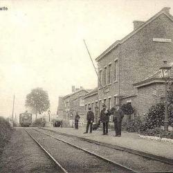 Spoorlijn 57A Sint-Gillis-Waas - Moerbeke, station Kemzeke