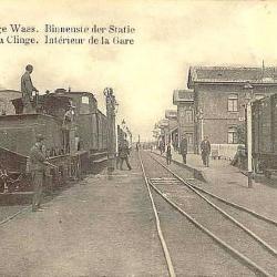 Spoorlijn 54, station De Klinge