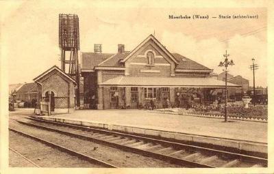 Spoorlijn 57A Sint-Gillis-Waas - Moerbeke