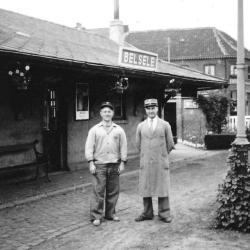 Spoorlijn 56 Sint-Niklaas-West - Dendermonde, station Belsele