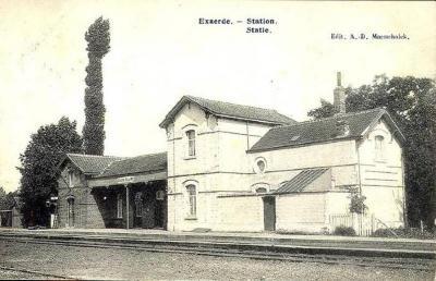 Spoorlijn  Lokeren- Moerbeke, station Eksaarde