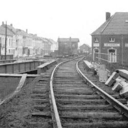 Spoorlijn 54 Mechelen - Terneuzen, station Temse