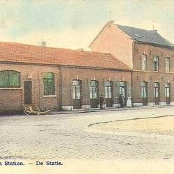 Spoorlijn 56 Sint-Niklaas-West - Dendermonde, station Hamme