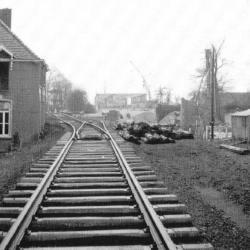 Spoorlijn 54 Mechelen - Terneuzen, spoor en Scheldebrug Temse
