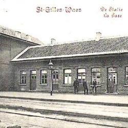 Spoorlijn 57A Sint-Gillis-Waas - Moerbeke, station Sint-Gillis-Waas