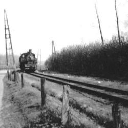 Spoorlijn 56 Sint-Niklaas-West - Dendermonde, stoomlocomotief