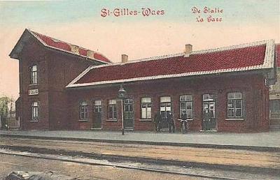 Station Sint-Gillis-Waas