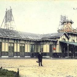 Spoorlijn 56 Sint-Niklaas-West - Dendermonde, station Dendermonde