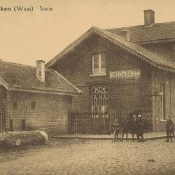 Spoorlijn 59 Antwerpen - Gent, station Nieuwkerken-Waas