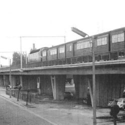 Station Sint-Niklaas, diesellocomotieven, 1973