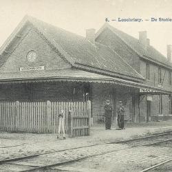Spoorlijn 59 Antwerpen - Gent, verdwenen station Lochristi