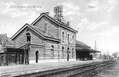 Spoorlijn 59 Antwerpen - Gent, station Zwijndrecht