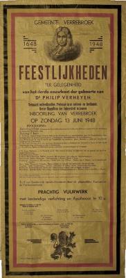 De affiche van de Verheyenviering 1948, 13 juni 1948
