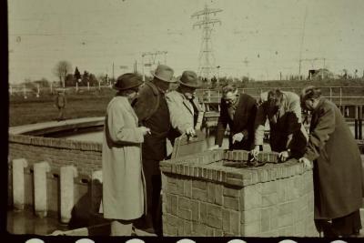 Bedrijfsbezoek aan waterzuiveringsstation
