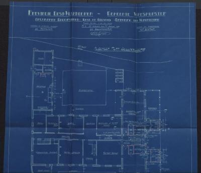 Grondplan van de verbeteringswerken 'Gods- en Gasthuis'