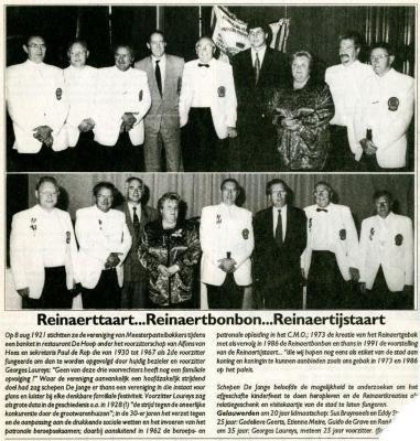 Reynaertspel 1992, Reynaertijstaart