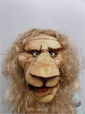 Reynaertspel 2011, masker koning Nobel de leeuw