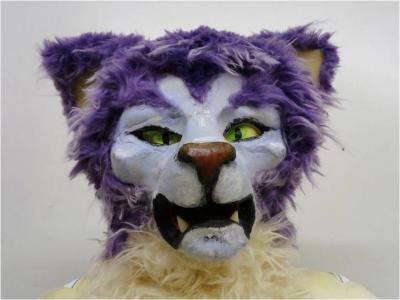 Reynaertspel 2011, masker Tibert de kater